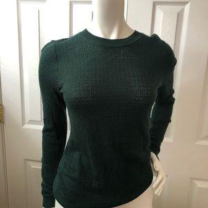 H&M lightweight green sweater